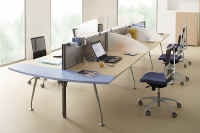 ecran de bureau open space
